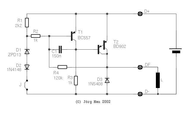 Regulatorforalternator Measuringandtestcircuit Circuit