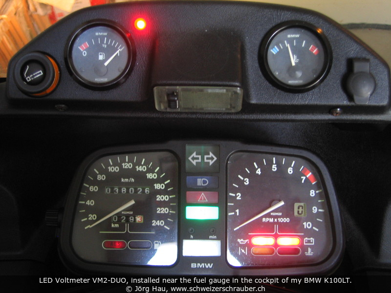 Joergs Motorcycle Pages Voltmeter Circuits